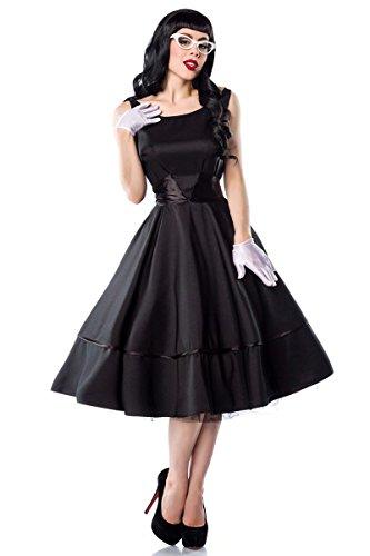 Hochwertiges 50er Jahre Rockabilly Kleid mit rückseitiger Satinschleife - 2