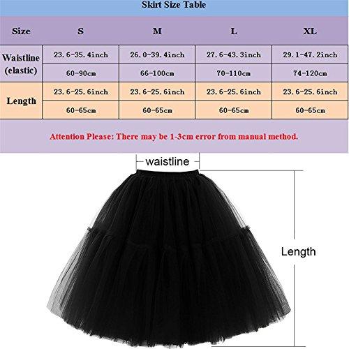 Petticoat Rock & Tanzrock für Ballett oder Abschlussball - 4
