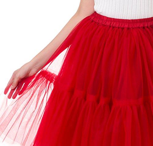 Petticoat Rock & Tanzrock für Ballett oder Abschlussball - 5