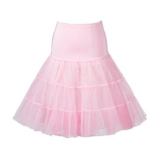 Buttereme 50er Vintage Retro Reifrock Unterrock Petticoat für Abendkleid Brautkleid Partykleid Rockabilly Kleid