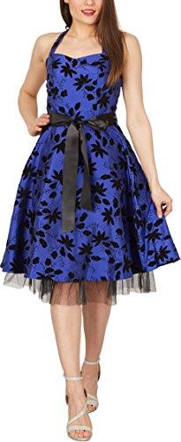Black Butterfly 'Maisy' Satin Essence Rockabilly-Kleid