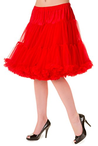 Banned Petticoat WALKABOUT 234 Rot M-L