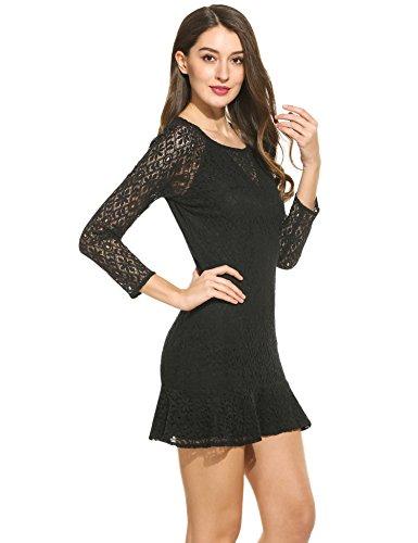 ᐅ ANGVNS Damen Kleid Abendkleid Partykleid Cocktailkleid ...