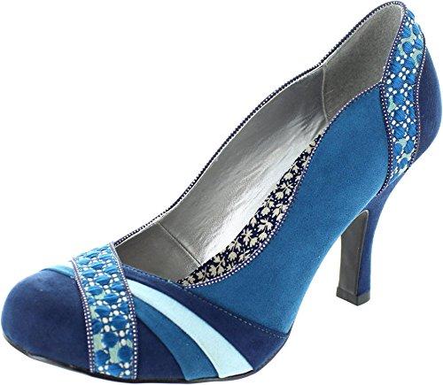Ruby Shoo Heather Damen Schuhe Blau