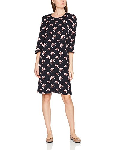 GERRY WEBER Damen Kleid Vintage Flower Mehrfarbig (Indigo/ Merlot/Elfenbein 8144), 44