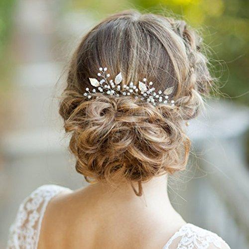 Aukmla Haarnadeln für Frauen auf Hochzeit Party oder im Alltag (2 Stück)