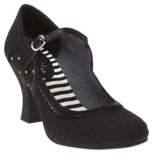 Ruby Shoo Rosalind Damen Schuhe Schwarz