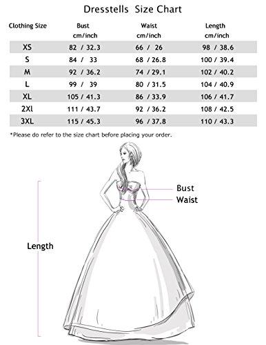 Dresstells Damen 50er Vintage Retro Cap Sleeves Rockabilly Kleider Hepburn Stil Cocktailkleider DarkGreen 2XL - 4